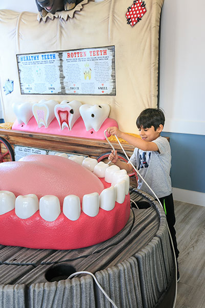 dentist for children in cibolo office